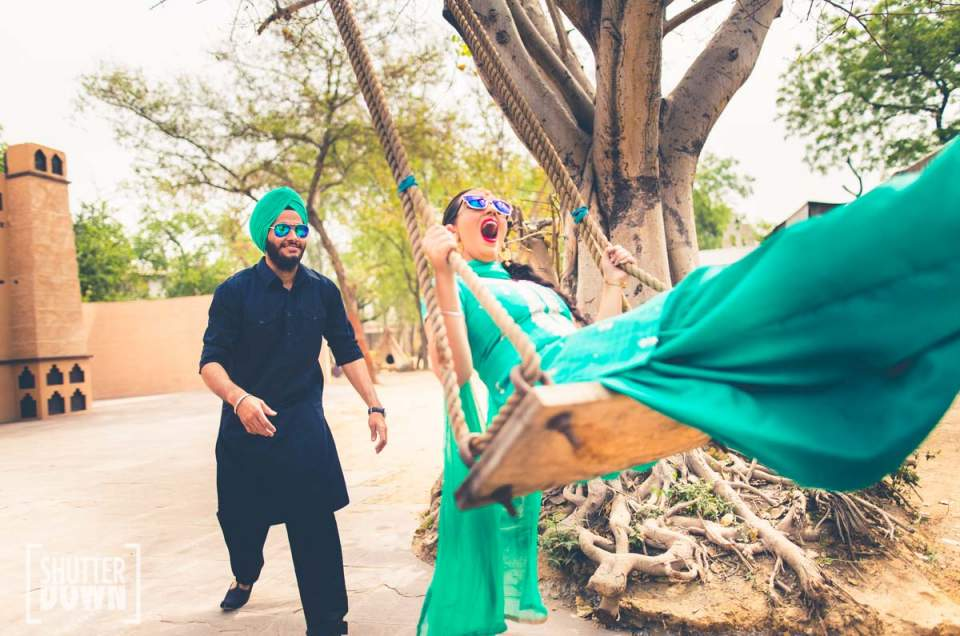 Full on Punjabi Pre-Wedding Shoot