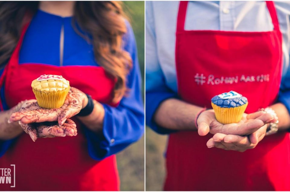 Baking Theme Pre Wedding Shoot