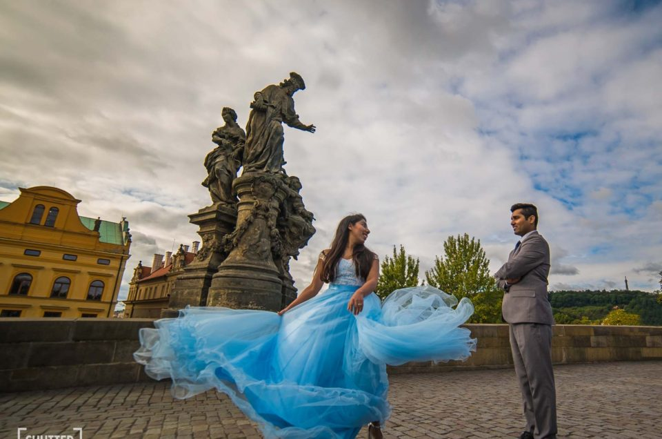 Akhil + Pallavi | Pre-Wedding in Prague
